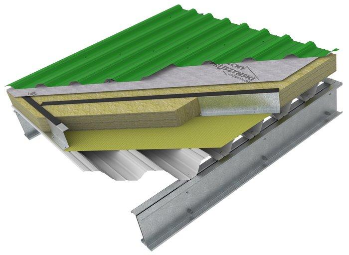 Утепленная крыша из профнастила – методы утепления кровли из профлиста