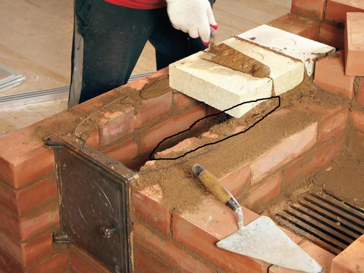 Делаем ремонт печи из кирпича своими руками: дымоход, трещины, заделка