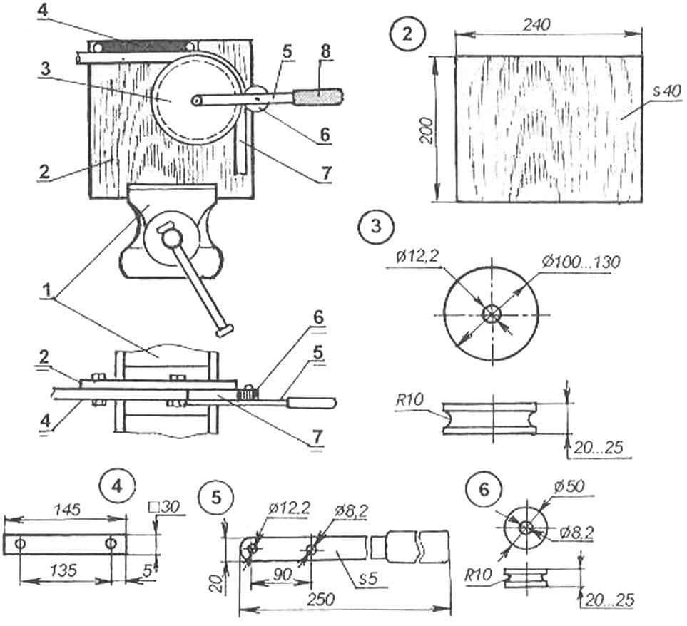 Как сделать простой трубогиб своими руками – доступные варианты