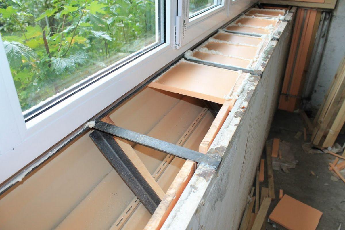 Парапет балкона: ремонт, утепление, укрепление, отделка