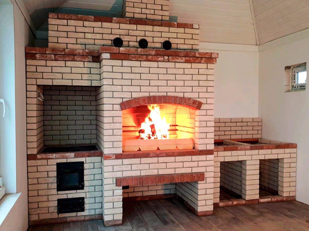 Беседки с печью, мангалом, казаном: 50 фото проектов как построить