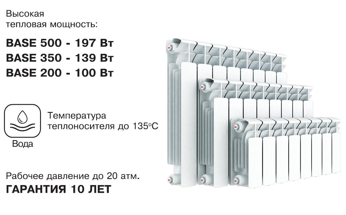 Биметаллические радиаторы отопления рифар - особенности и преимущественные характеристики