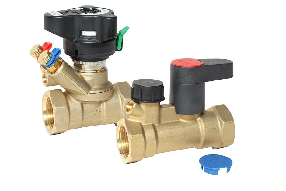 Принцип работы балансировочных клапанов в системе отопления