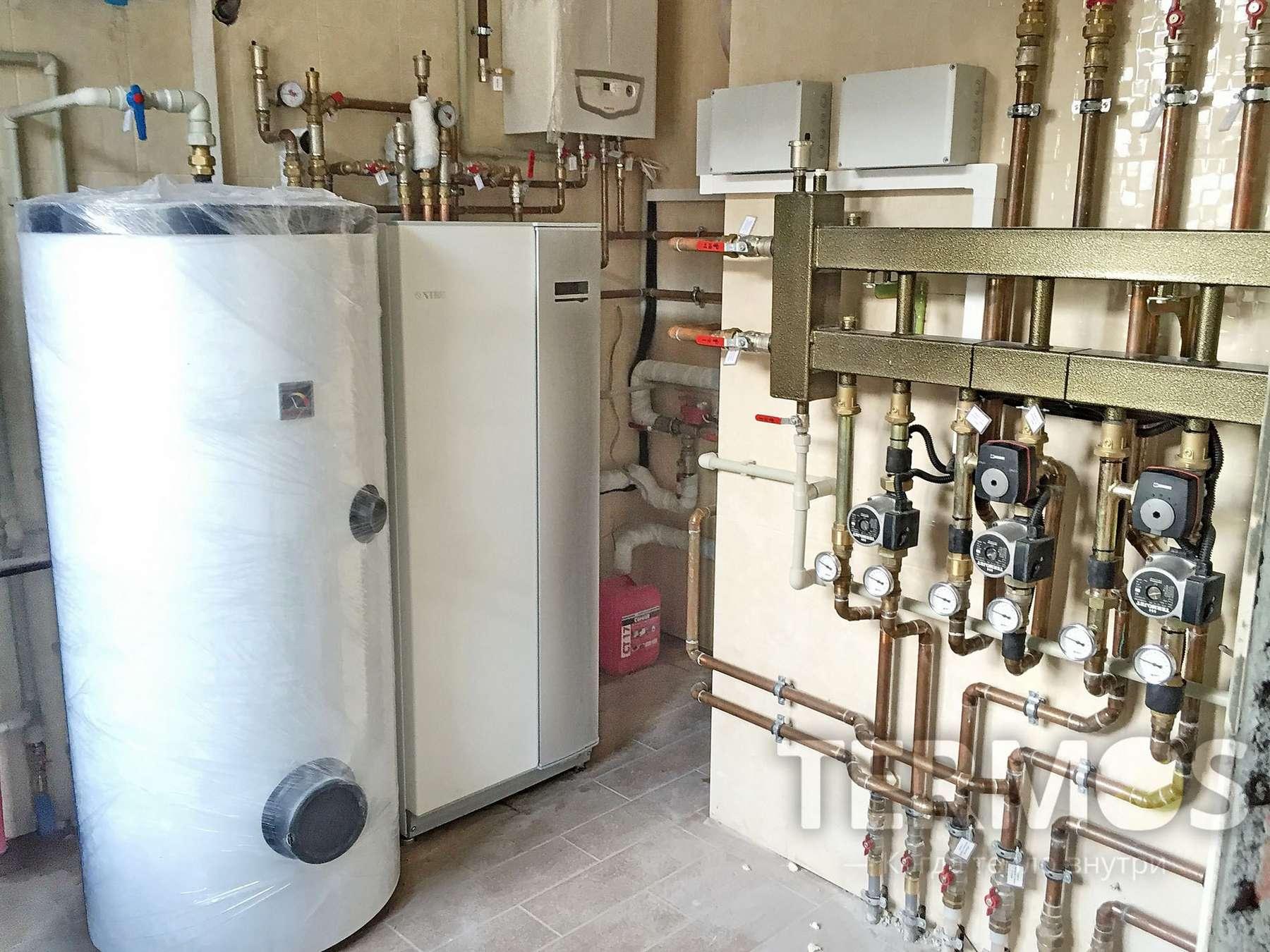 Температура в системе отопления воды, радиатора, котла, батареи