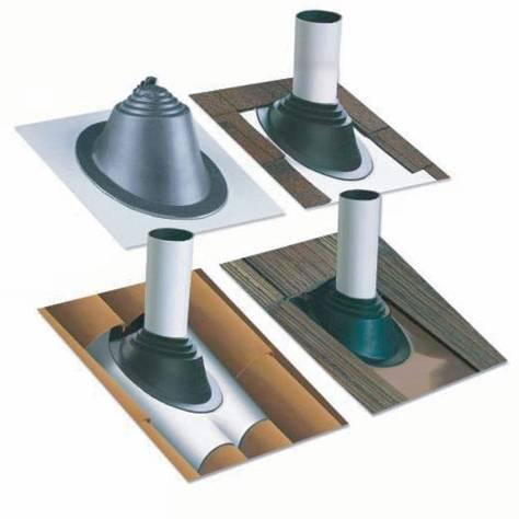 Крыза для дымохода: ее виды и установка, кровельный уплотнитель для монтажа