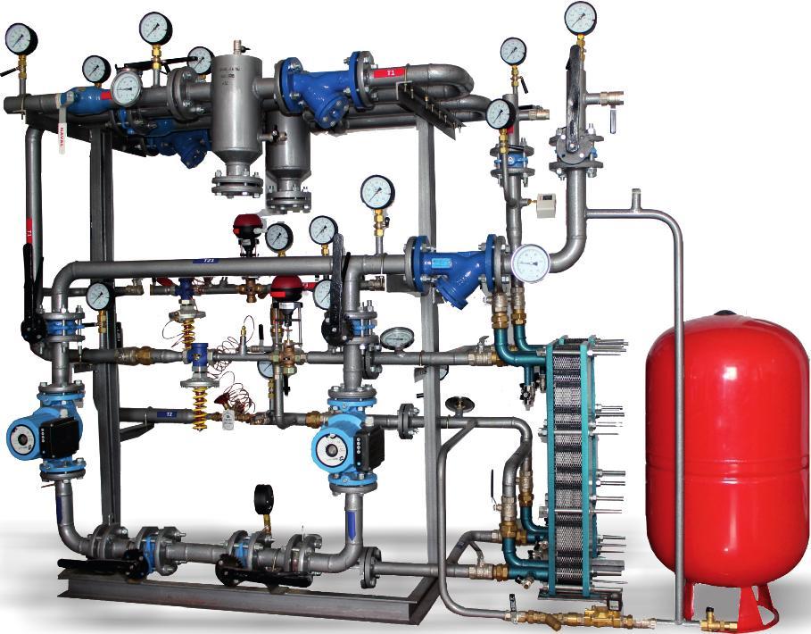Теплообменники для горячего водоснабжения и отопления