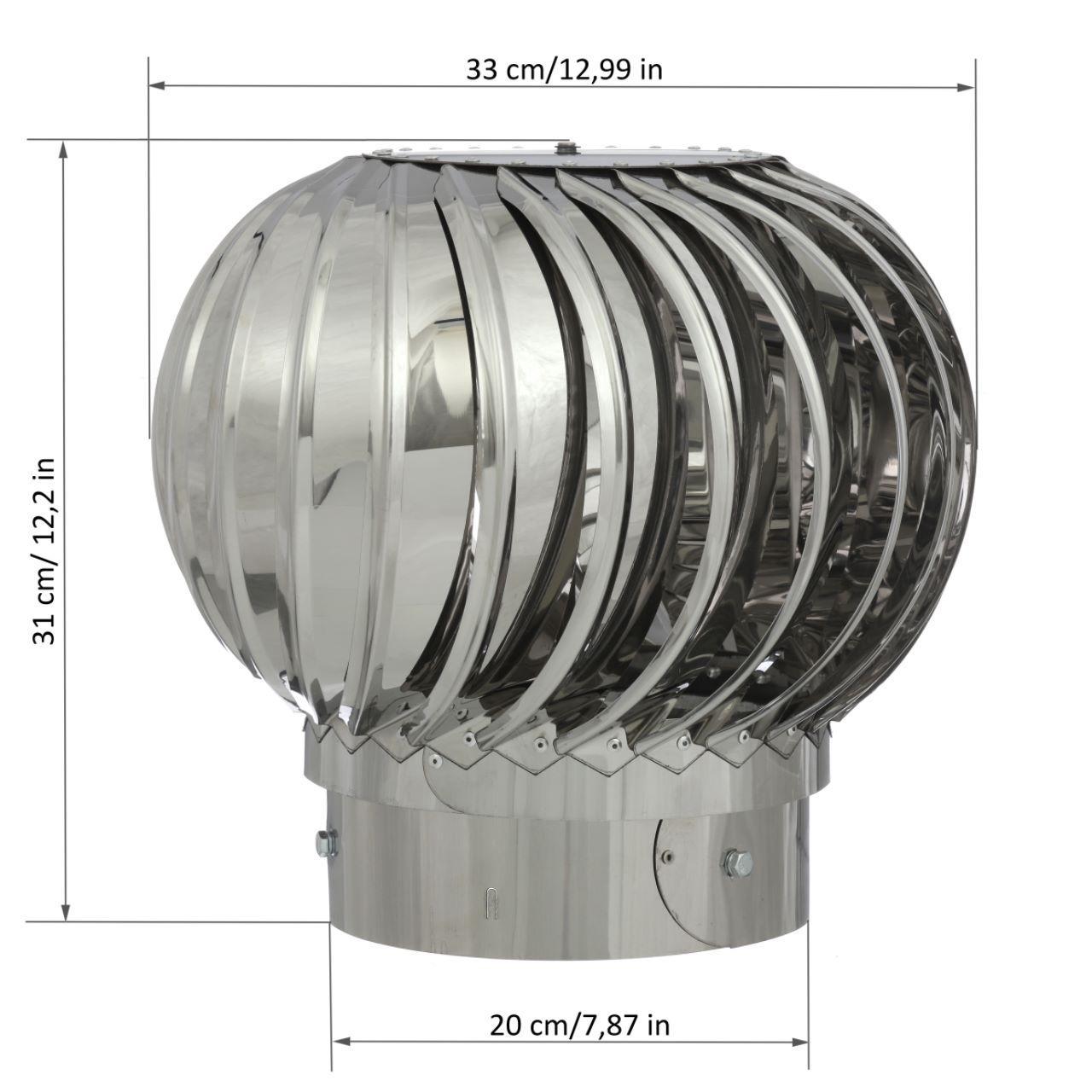Турбодефлектор своими руками