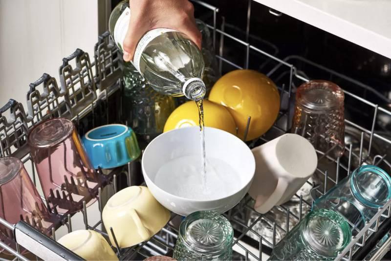 Как быстро вымыть посуду