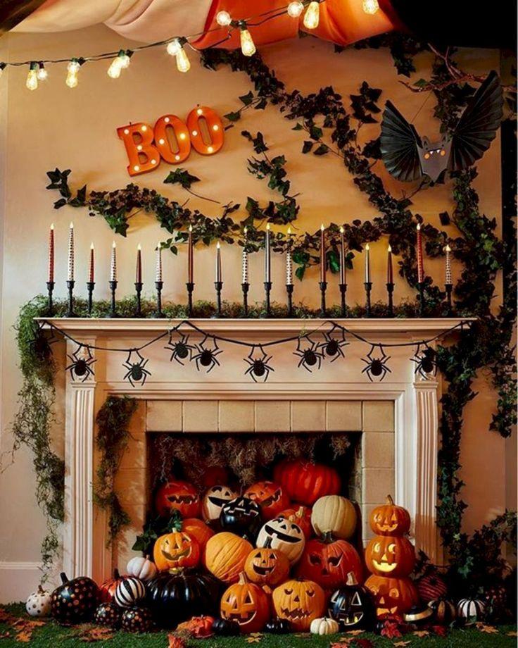 Как украсить дом на хэллоуин своими руками: как украсить класс, комнату, двери и другие части дома