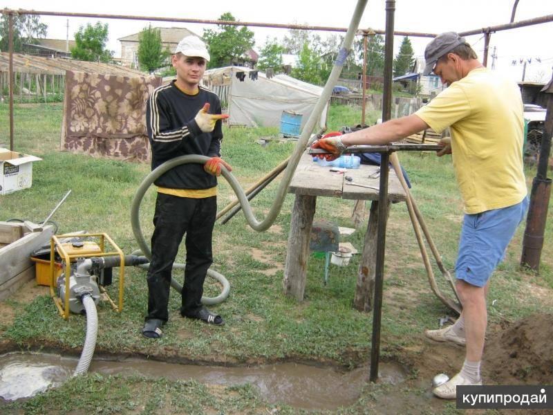 Скважина на воду: как пробурить и обустроить своими руками