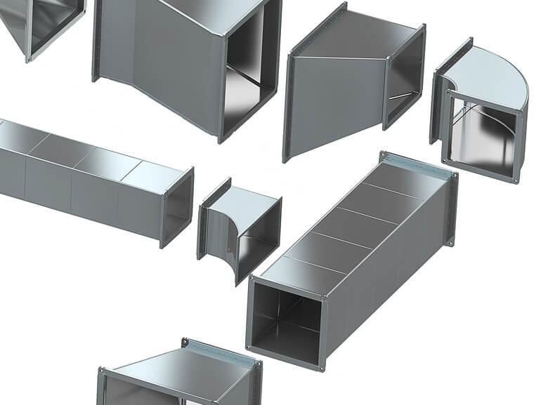 Вентиляционные трубы, гибкие воздуховоды для вентиляции