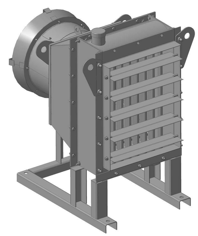 Подбор воздушно-отопительных агрегатов