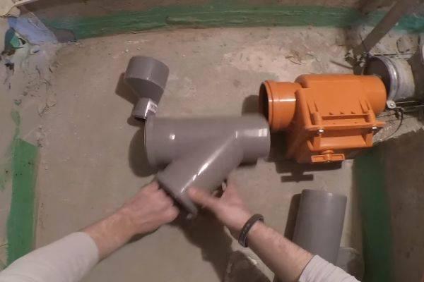 Гидрозатвор для канализации: виды, как работает, схемы установки