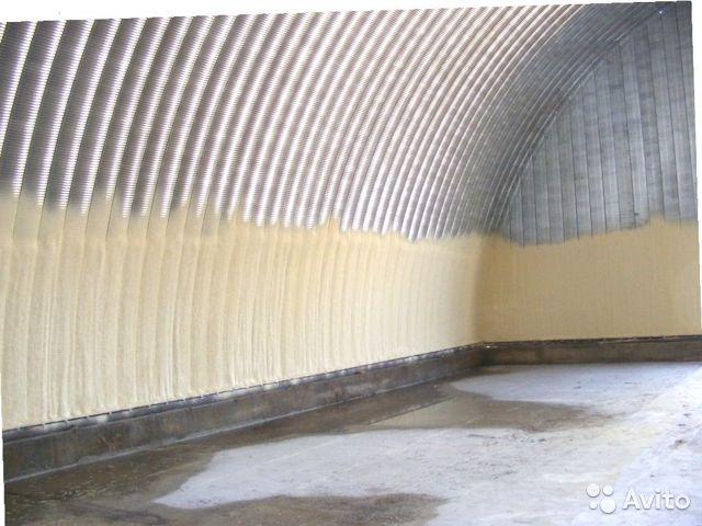 Утепление склада, варианты теплоизоляции ангаров и других промышленных помещений