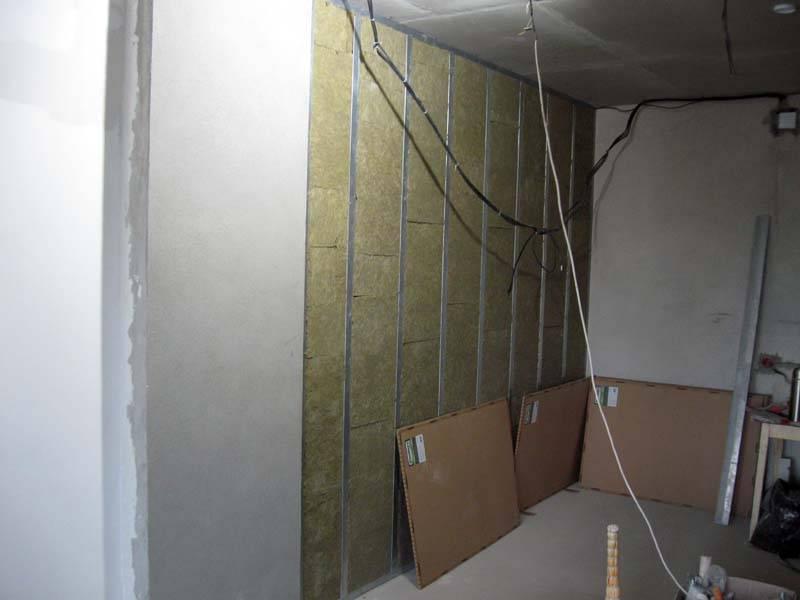 Шумоизоляция стен из гипсокартона в квартире современные материалы