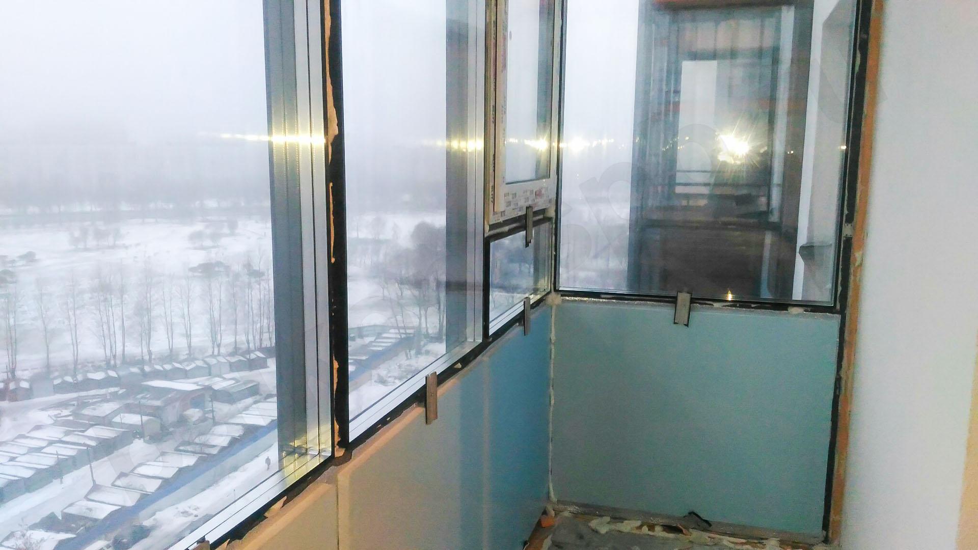 Утепление стеклянного балкона или лоджии