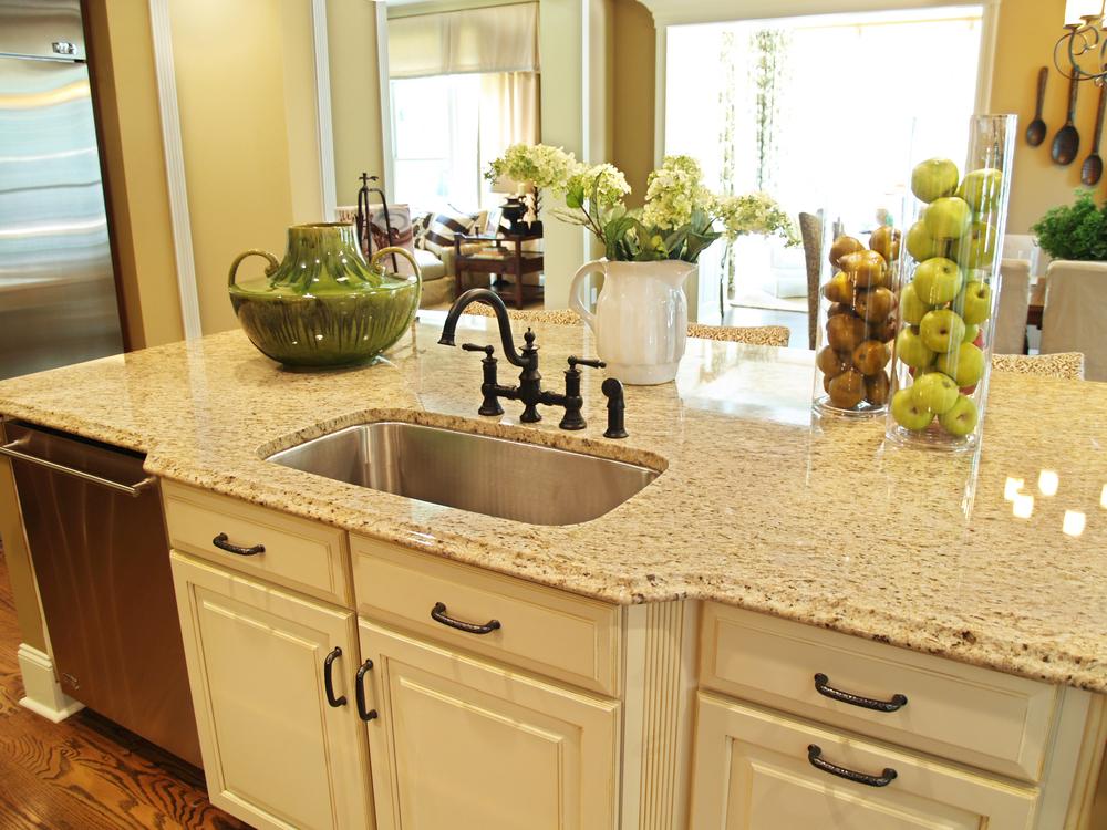 Столешница для кухни: цветовое сочетание, реальные фото.