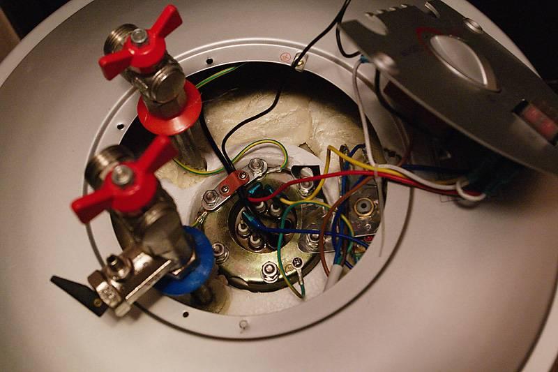 Как снять и заменить тэн в водонагревателе thermex от 30 до 100 литров