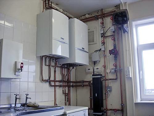 Газовый котел на кухне: требования к установке и помещению, правила монтажа