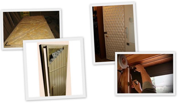 Как утеплить деревянную дверь:виды утеплителей и уплотнителей