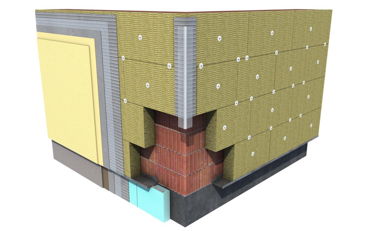 Что такое мокрый фасад? технология монтажа, стоимость.