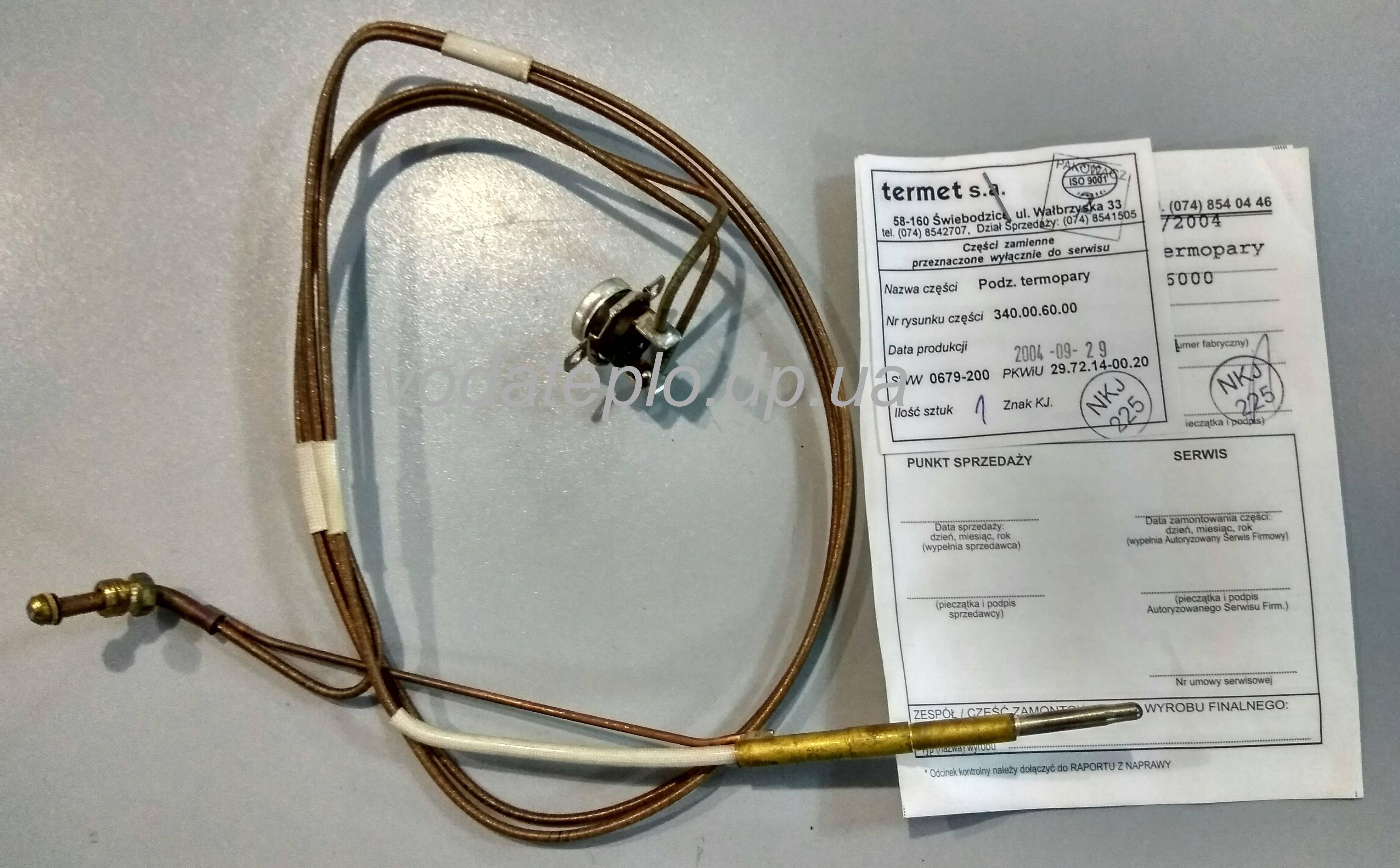 Особенности работы и эксплуатации термопары для газового котла