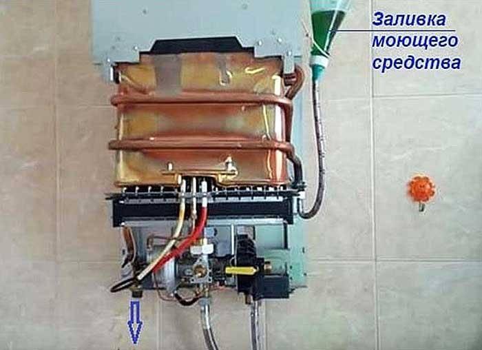 Как почистить газовую колонку от накипи и копоти: инструкция