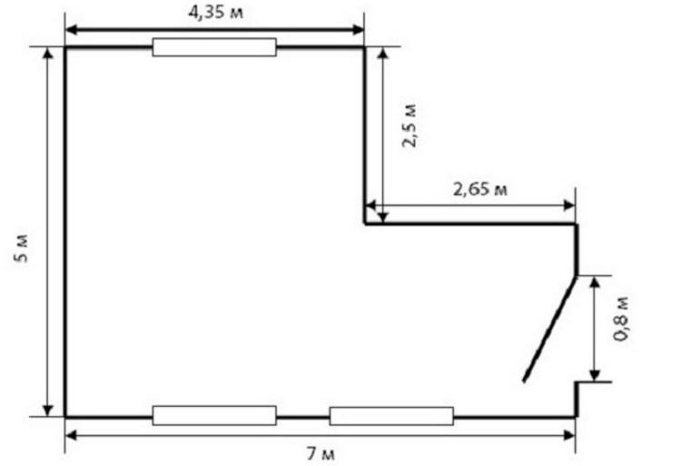 Как рассчитать количество обоев на комнату - на калькуляторе