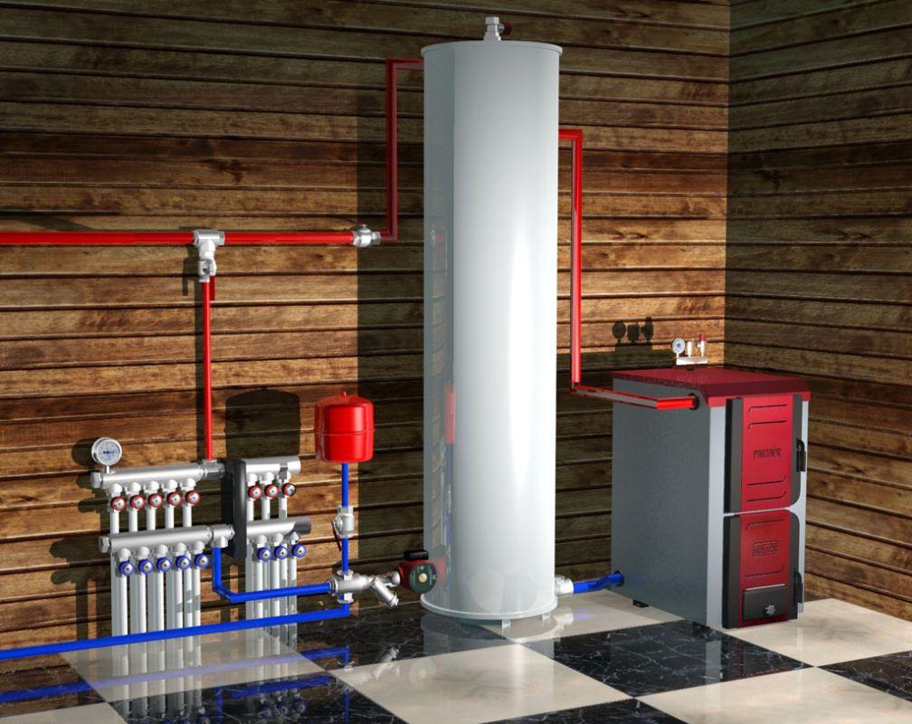 Системы отопления загородного дома, схема, виды, выбор