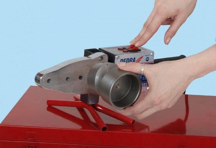 Пайка пластиковых труб — аппараты и инструменты для соединения