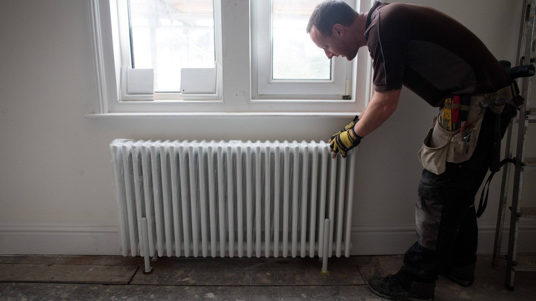 Монтаж стального радиатора своими руками   отопление дома и квартиры