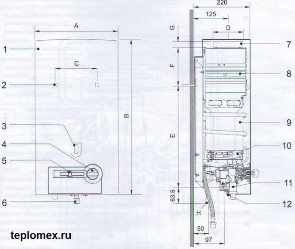 Обзор газовых колонок bosch: отзывы, модельный ряд, инструкция по эксплуатации