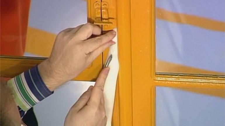 Как утеплить окна деревянные на зиму - пошаговая технология