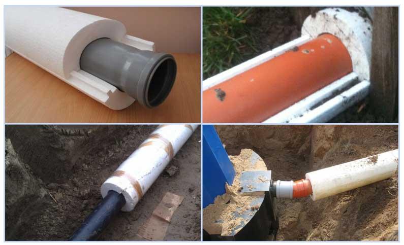 Как утеплить водопроводную трубу над землей, под землей, в частном доме