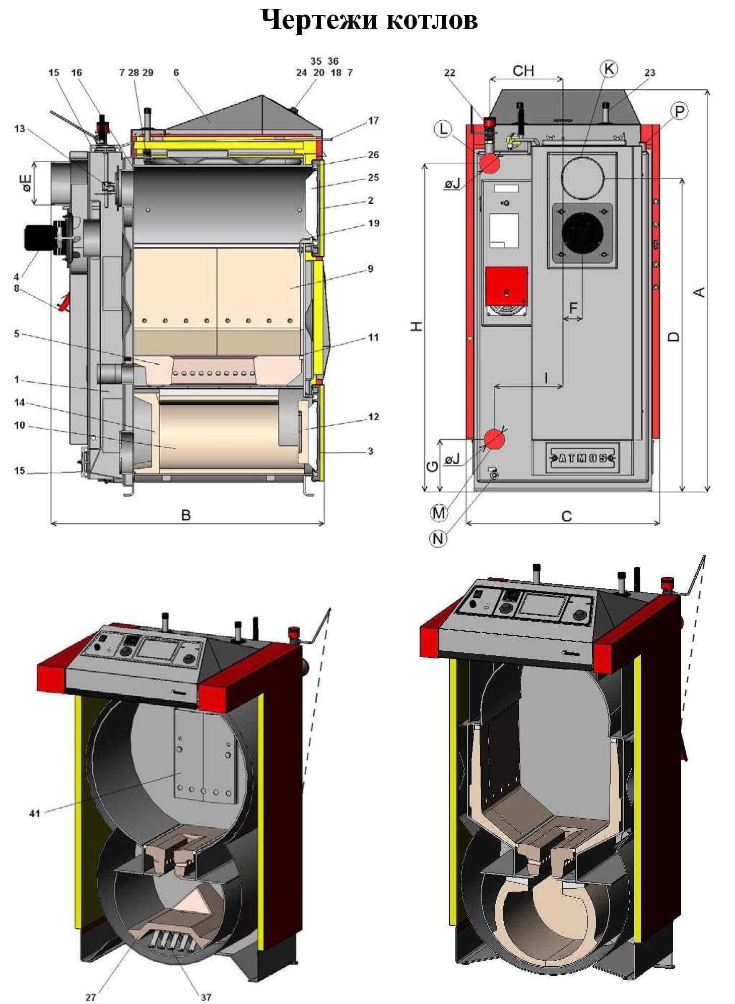 Пиролизные котлы длительного горения: обзор моделей, характеристики, цены