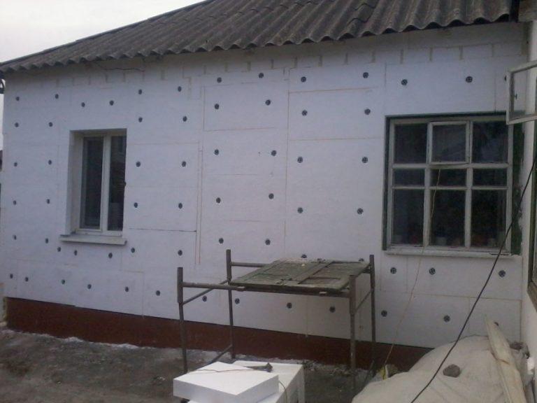 Утепление каркасного дома изнутри и снаружи пенополистиролом, пенопластом