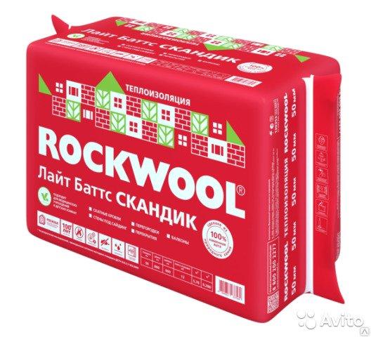 Утеплитель лайт баттс скандик от роквул, технические характеристики, плотность rockwool