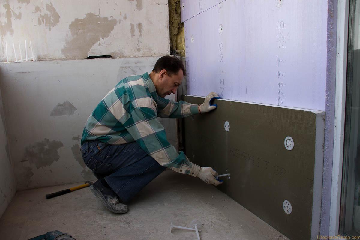 Как утеплить стену в угловой квартире изнутри своими руками