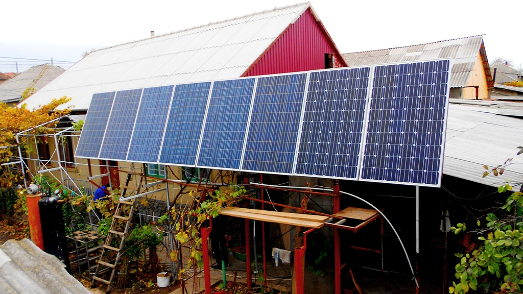 Электростанция на солнечных батареях своими руками