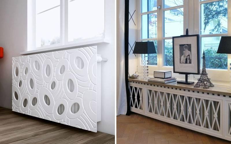 Как эстетично задекорировать трубу отопления в комнате: 15 фото