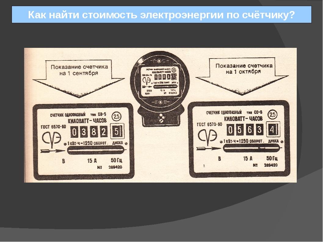 Как правильно снять показания счетчика электроэнергии - жми!