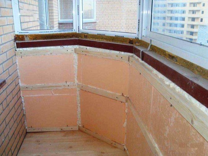 Чем лучше утеплить балкон пенопластом или минватой