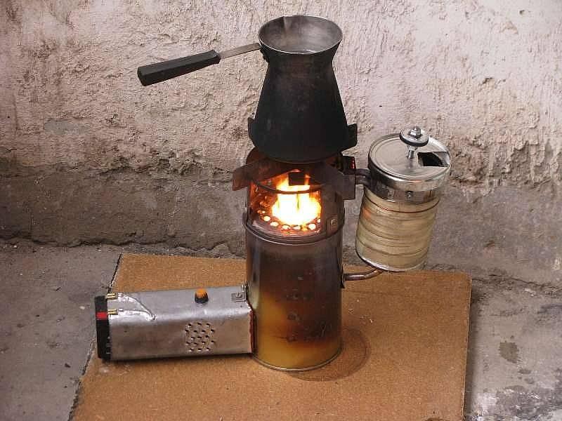 Самодельная чудо-печь на солярке: лучший обогреватель