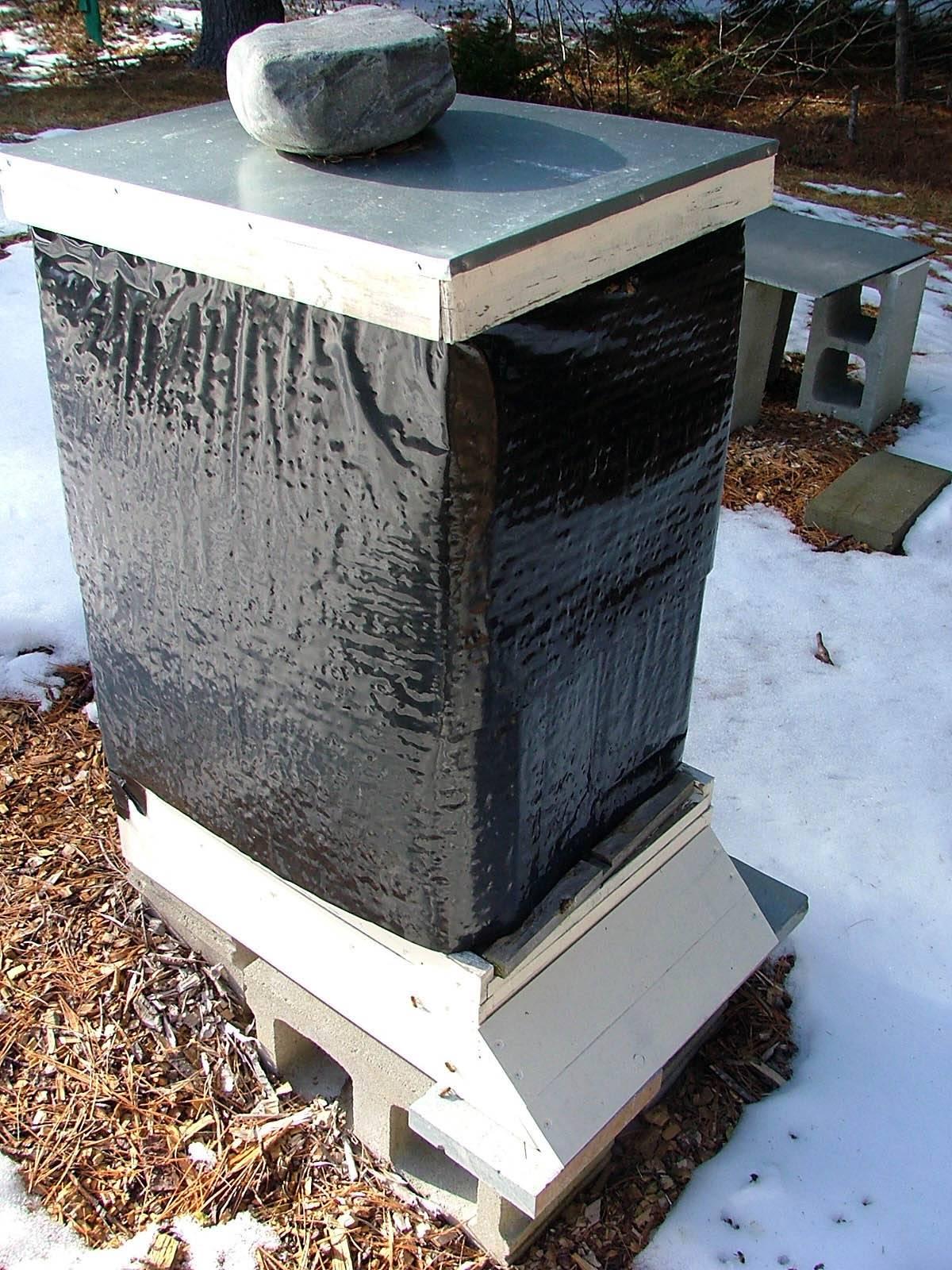 Вентиляция ульев зимой