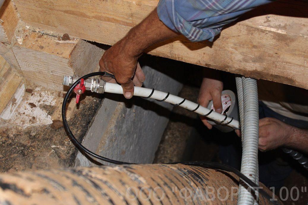 11 советов, как утеплить водопроводную трубу | строительный блог вити петрова
