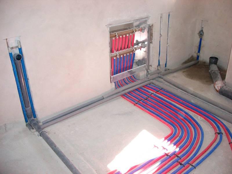 Коллекторная (лучевая) система отопления