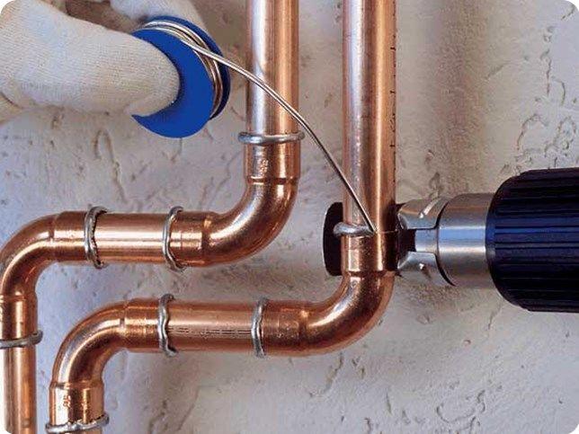 Труба медная для системы отопления