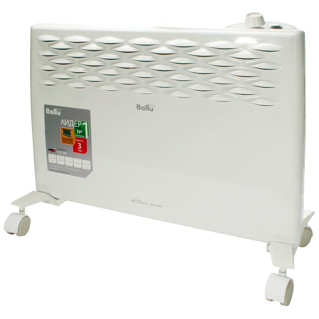Основные виды электрических конвекторов отопления