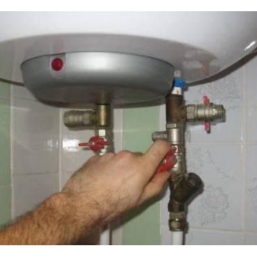 Слив воды из водонагревателя: порядок действий процедуры и как сливать всю воду из бойлера без остатка