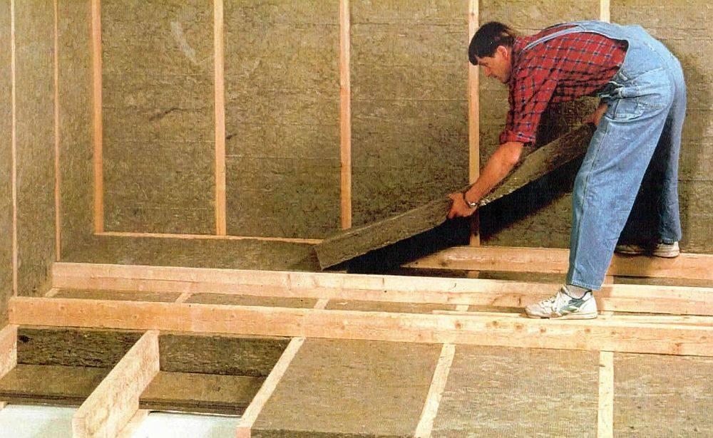 Утеплитель для пола в деревянном доме - какой лучше выбрать?